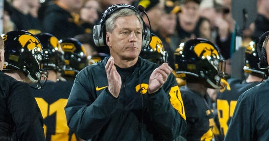None of Kirk Ferentz's recruiting classes have cracked the Top 25 over the past decade.