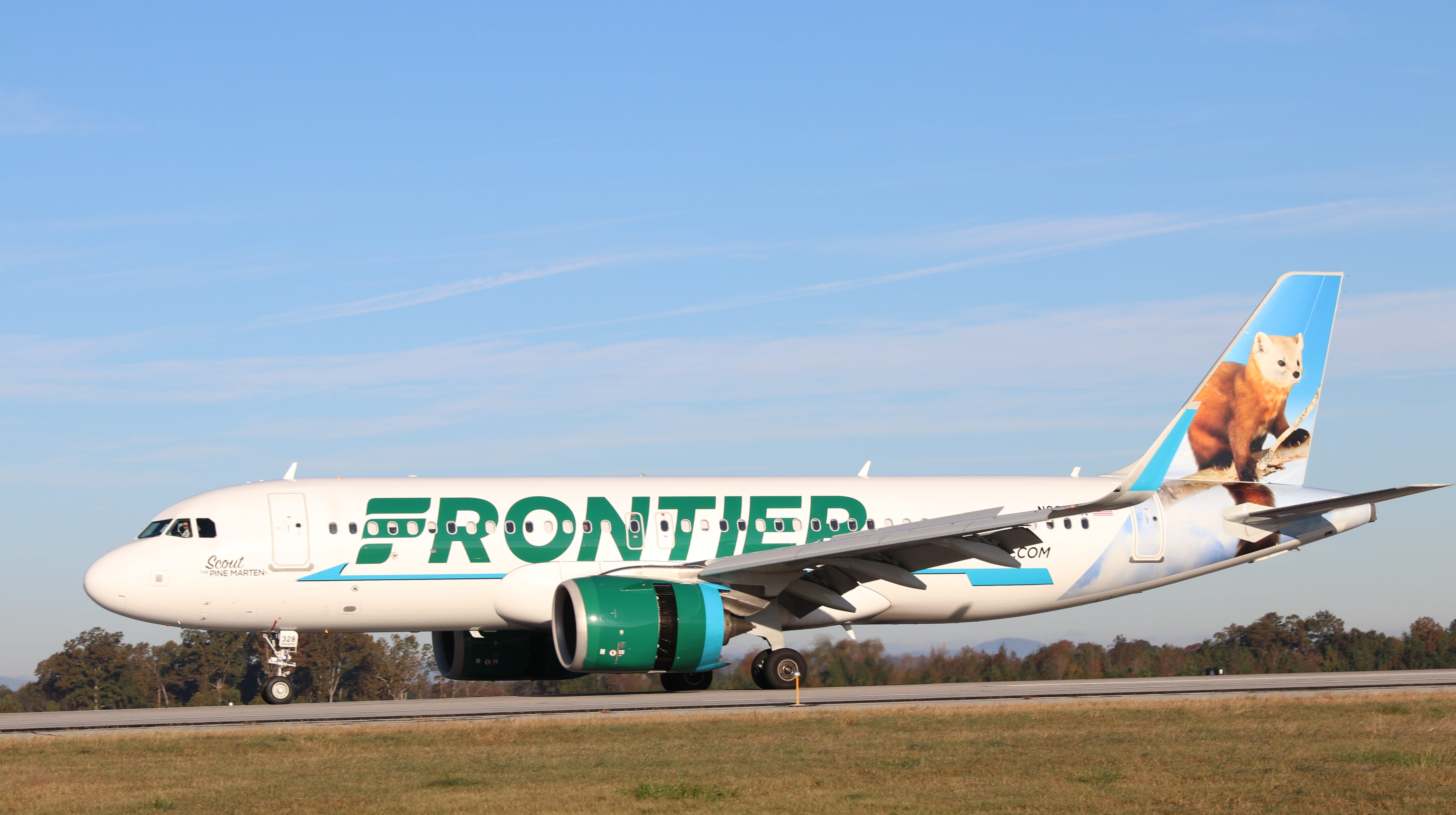 Frontier adds Greenville-Spartanburg International Airport to Tampa service