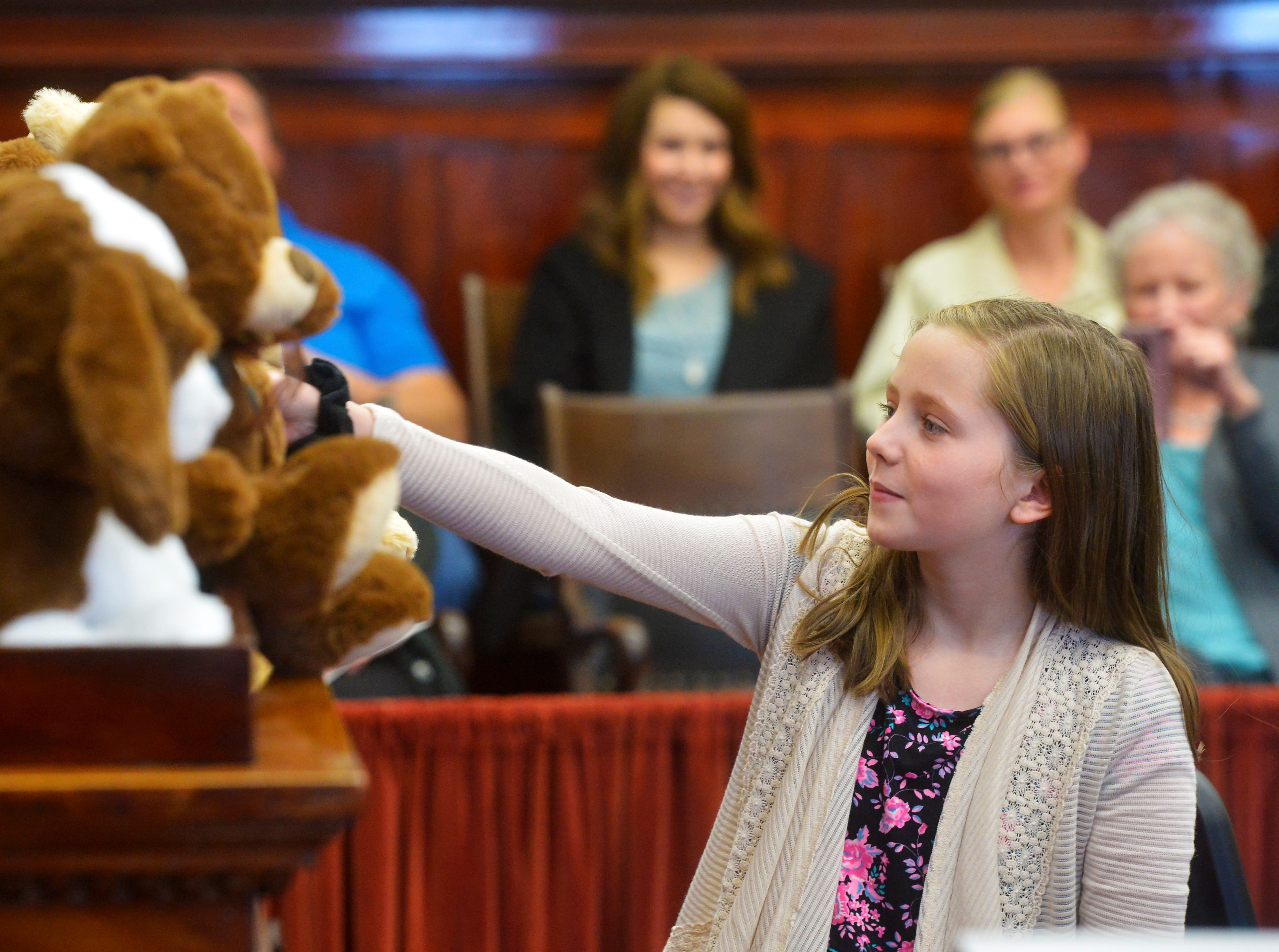 Great Falls Adoption Day celebration on Friday in the Cascade County Courthouse.