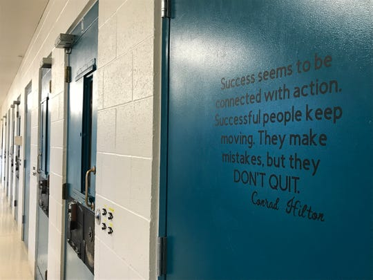 "Senior detention officer Cody Keller enjoys providing kids with Thanksgiving dinner at the Great Falls Juvenile Detention Center. ""We don't treat them like convicts,"" he said. ""We treat them like kids."""