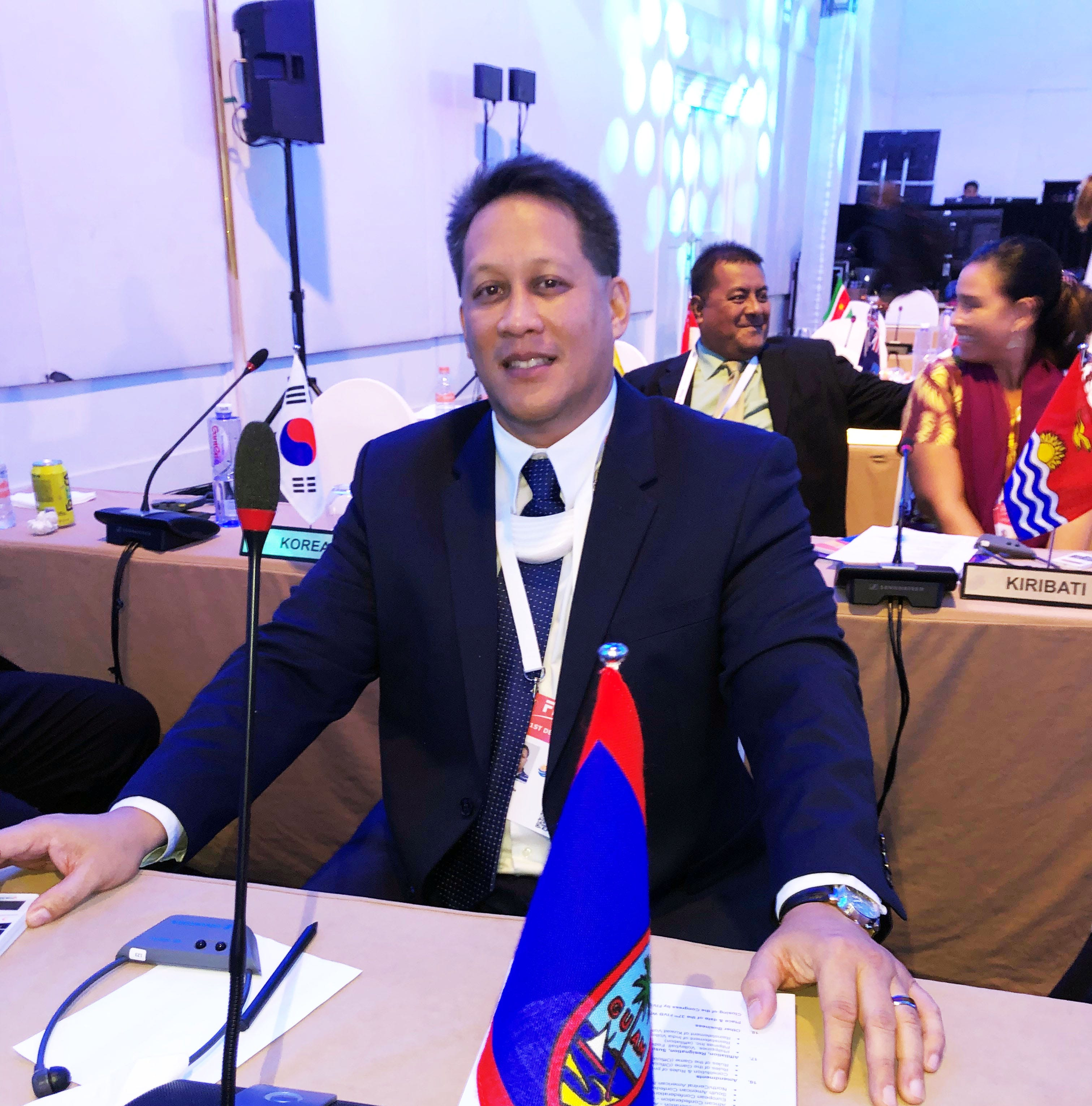 Herman Ada elected to sit on Oceania Volleyball Association executive board