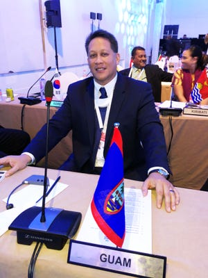Guam Volleyball Federation president Herman Ada was elected to serve on the Oceania Volleyball Association's executive board. The board seat comes with his election as western zone vice president of the Oceania Volleyball Association, which took place at the FIVB World Congress Nov. 16 in Cancun, Mexico.