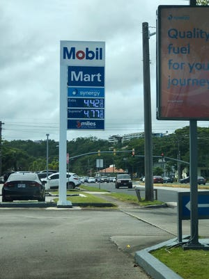 Gas prices on Guam as of Nov. 16, 2018