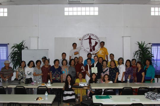 The University of the Philippines Alumni-Guam presented their scholars during its 3rd quarter membership meeting on Oct. 7 at the Tamuning Senior Citizen Center.