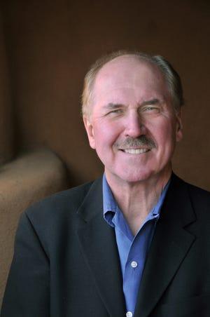 Author and gardener David Morrell