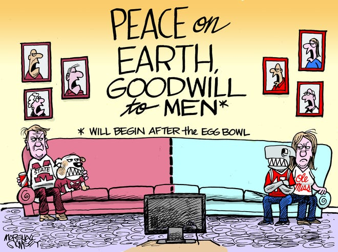 Egg Bowl: Peace on Earth, Goodwill to Men will begin after the Egg Bowl