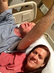 Jeffrey Price was overjoyed with praise for God for getting him through his surgery on May 4.