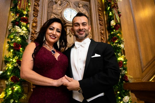 Mori Madrid and Jeremy Brown celebrated their elaborate Titanic-inspired engagement  in Pigeon Forge, Tennessee on Friday, November 9, 2018.