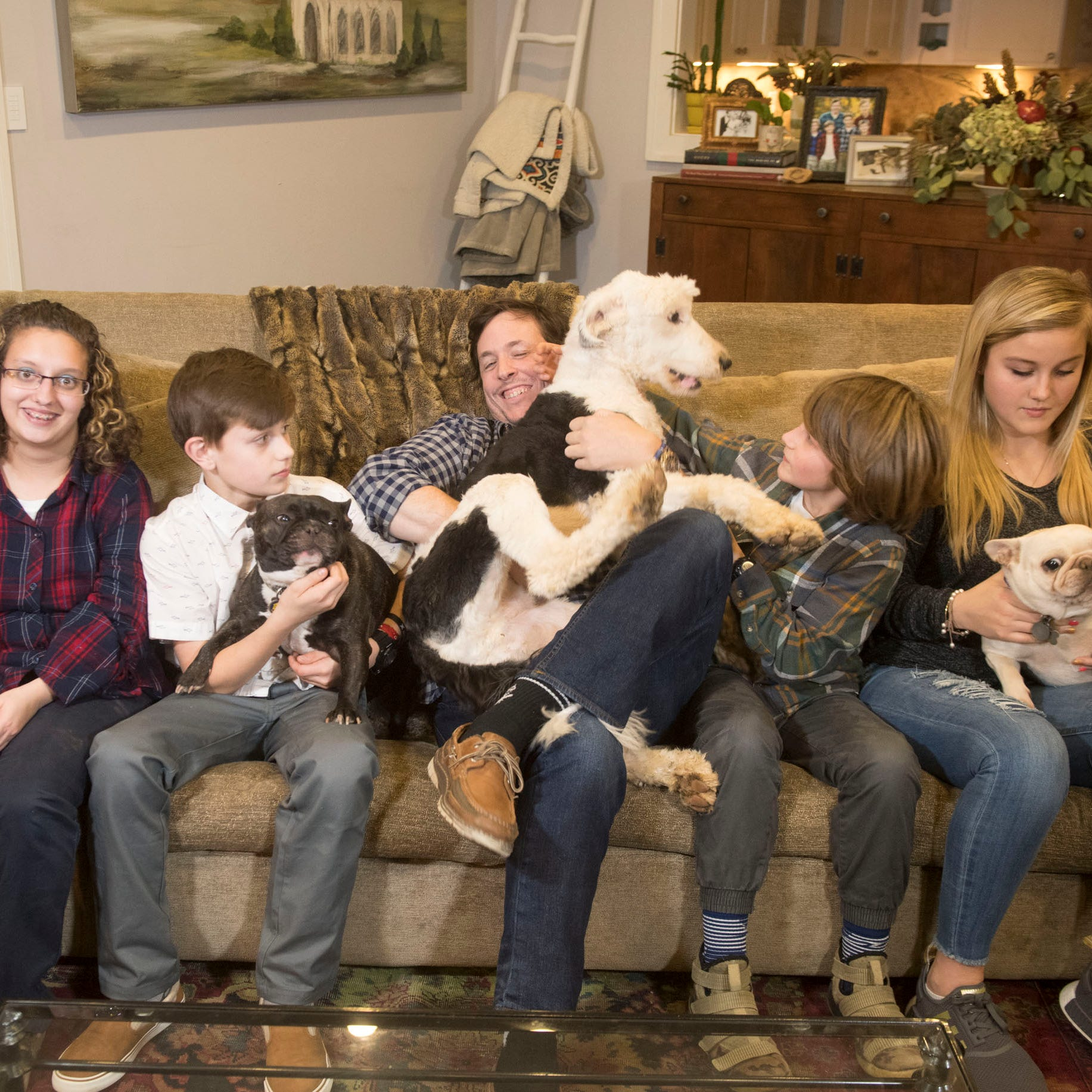 'I just knew that they would heal in my home,' Simon Hall says of his 6 adopted children