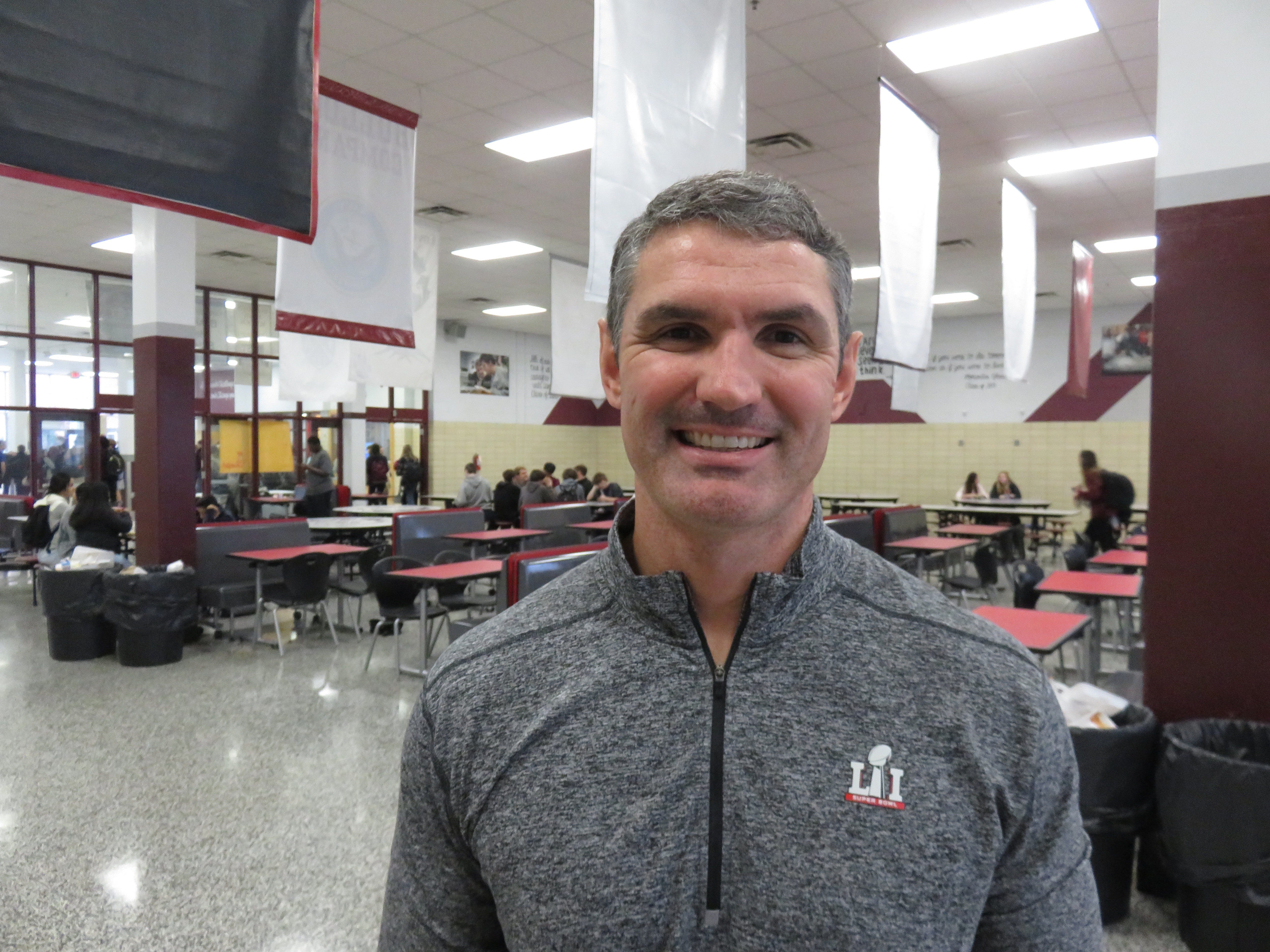 Bearden High School football coach Morgan Shinlever.