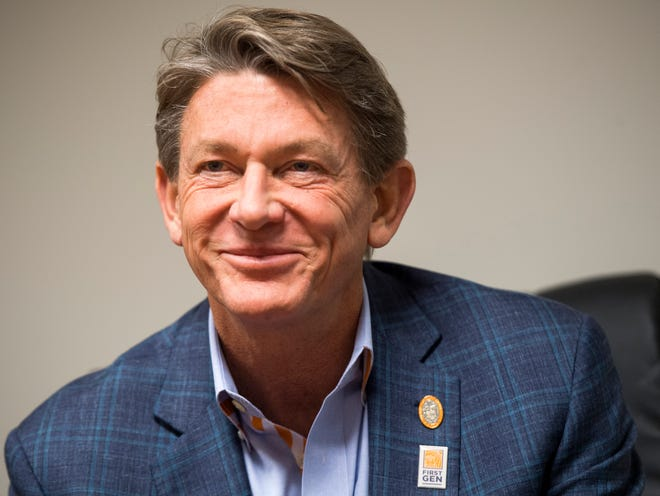 Randy Boyd, a Knoxville businessman and former Republican candidate for governor, was unanimously approved as UT interim president on Sept. 25.