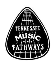 This guitar pick logo will adorn markers at stops on the Tennessee Music Pathway.