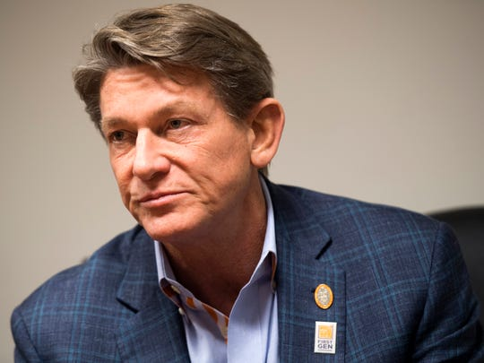 "Randy Boyd, a former candidate for governor, said he thinks his relationship with politicians can be ""an asset"" in his role as UT's interim president, and he's ""hopeful that I can provide a bridge between the university and our students and our legislators."""