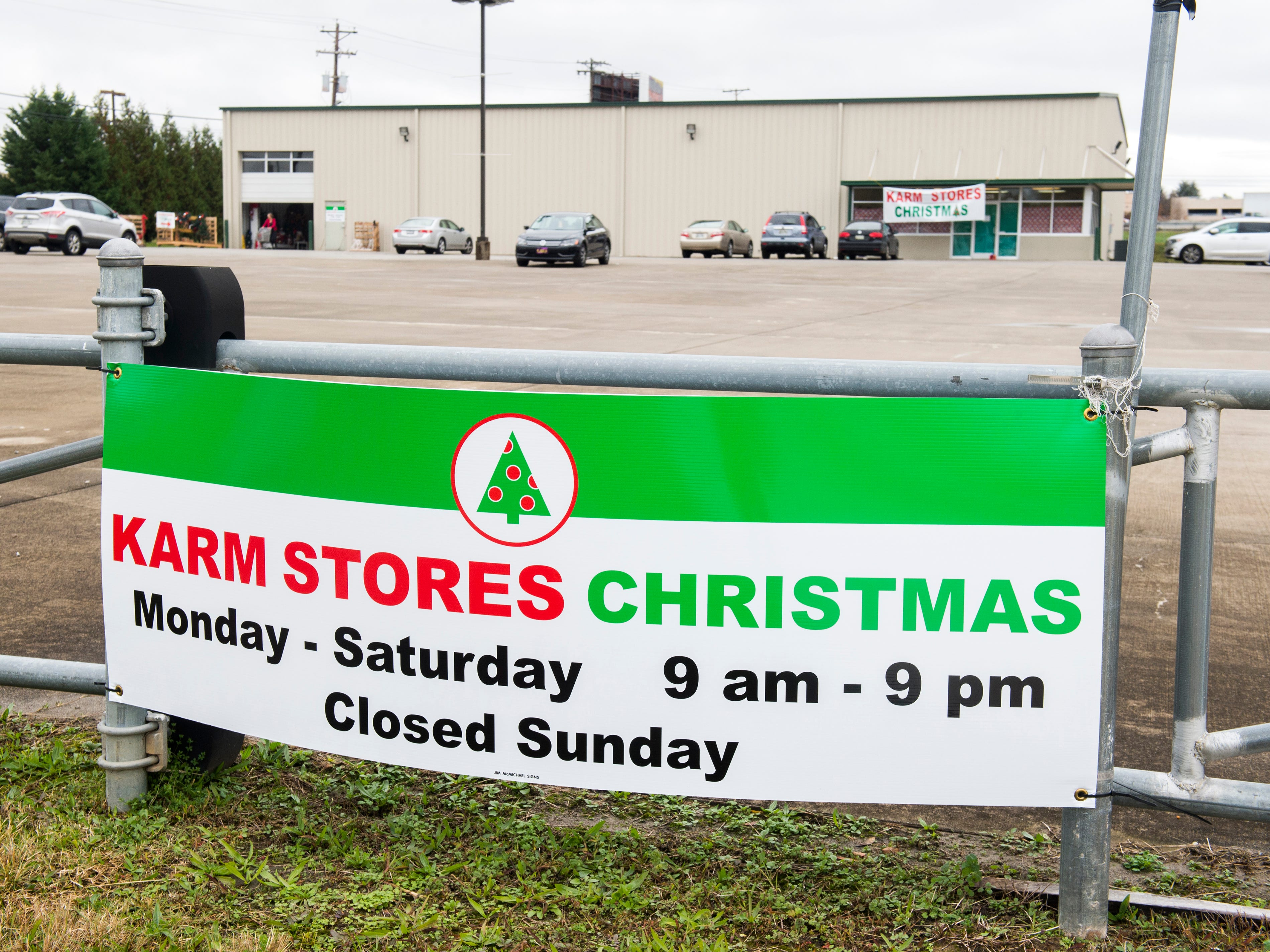 The KARM Christmas Store is located at 9629 Parkside Drive in Knoxville.