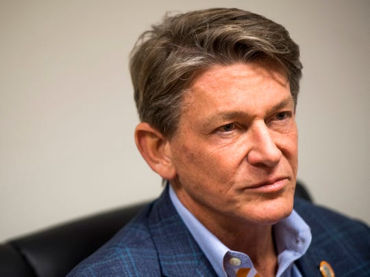 """""""I'm hopeful that I can help to build on a culture that is one of collaboration and one that's student-centric, focused on student success,"""" Randy Boyd said of his role as UT's interim president."""