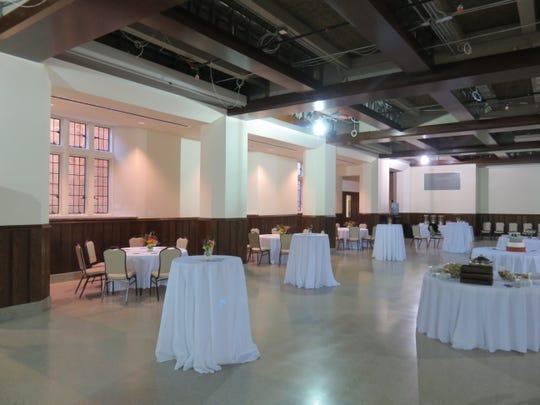 The Church Street United Methodist Church's remodeled Parish Hall is ready for reception on Nov. 11.