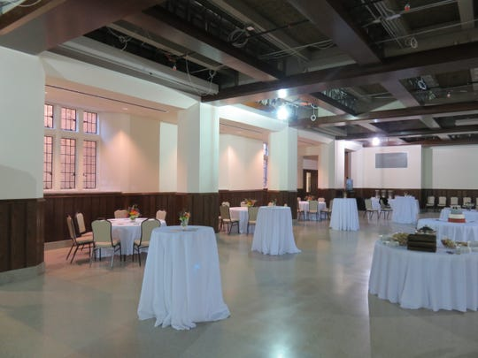 The Church Street United Methodist Church's remodeled Parish Hall is ready for reception on Nov. 11.