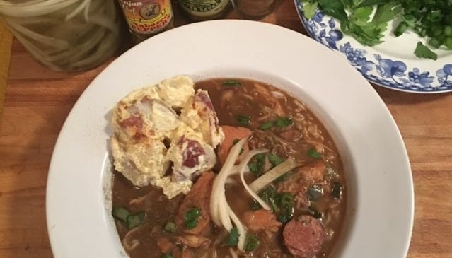 Making gumbo doesn't have to be intimidating
