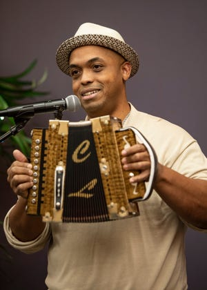 The Daily Advertiser's monthly concert series, Acadiana Roots, hosted GRAMMY nominated, Zydeco musician, Corey Ledet, Thursday evening, November 15, 2018. Herman Fuseiler MC'ed the event. The intimate setting allowed the crowd to hear Corey play stripped down and hear stories from his life as a child and on the road.