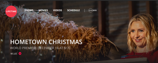 Hometown Christmas was filmed in Lafayette Parish earlier this year.