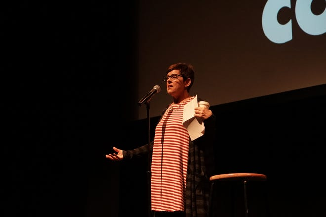 Kristin Askelson is the host of Lafayette Storytellers: Food and Family at the Acadian aCenter for the Arts on Tuesday, Nov. 13, 2018.
