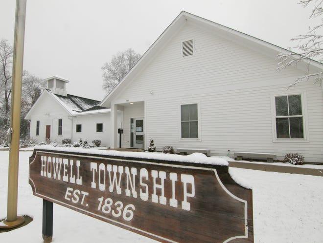 Howell Township Hall, shown Friday, Nov. 16, 2018.