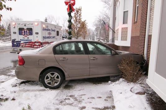 Car Building Crash 02
