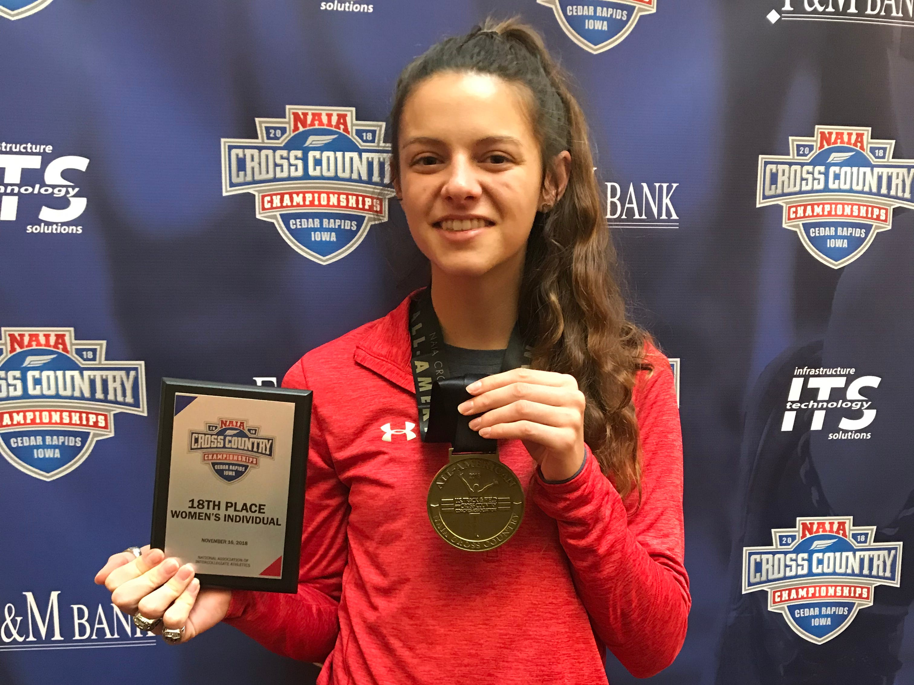 Cleary cross country runner earns NAIA All-America status