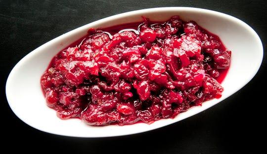 John Varanese's bourbon cranberry chutney