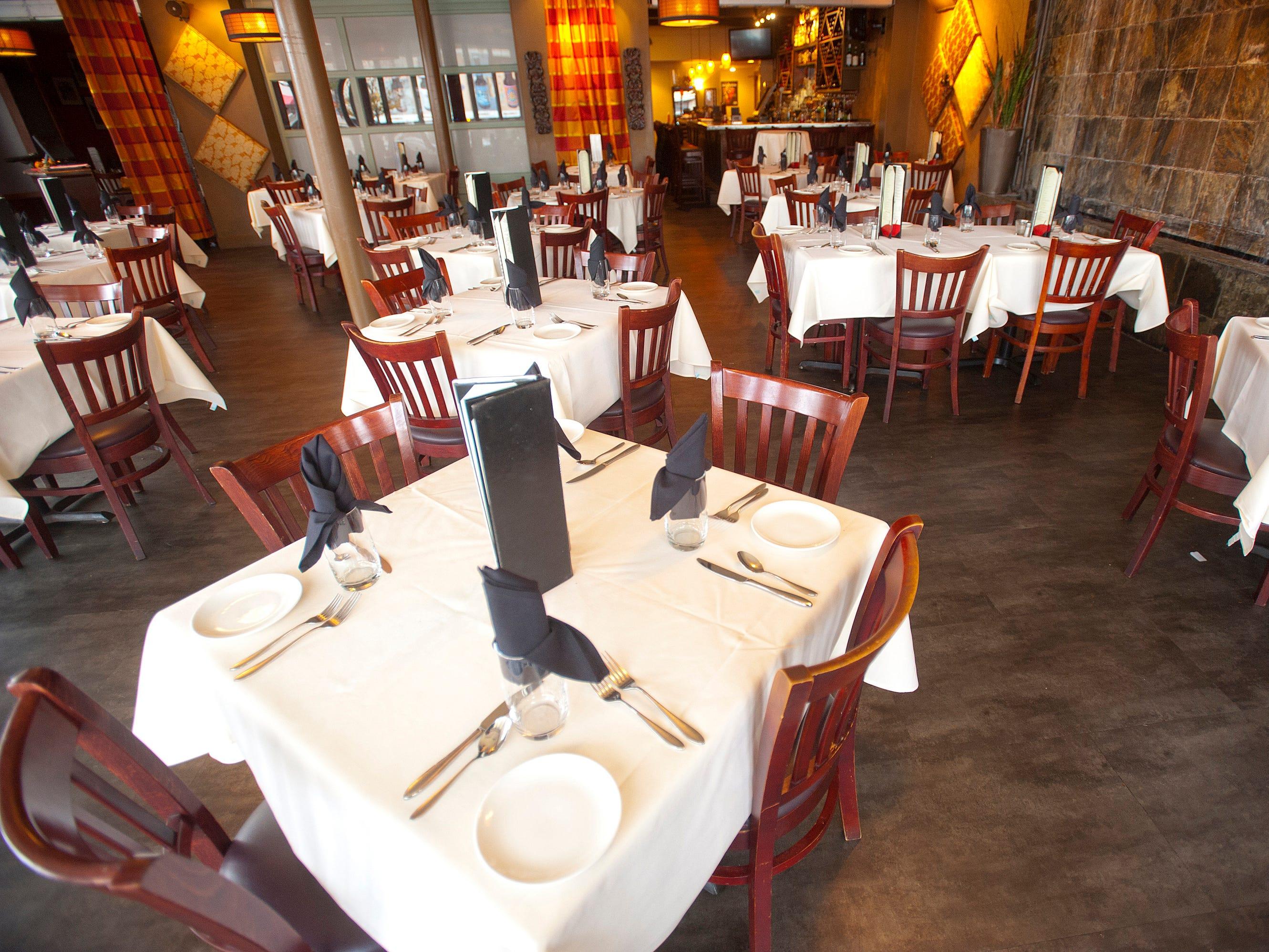 The dining room of the Varanese Restaurant on Frankfort Ave.November 14, 2018