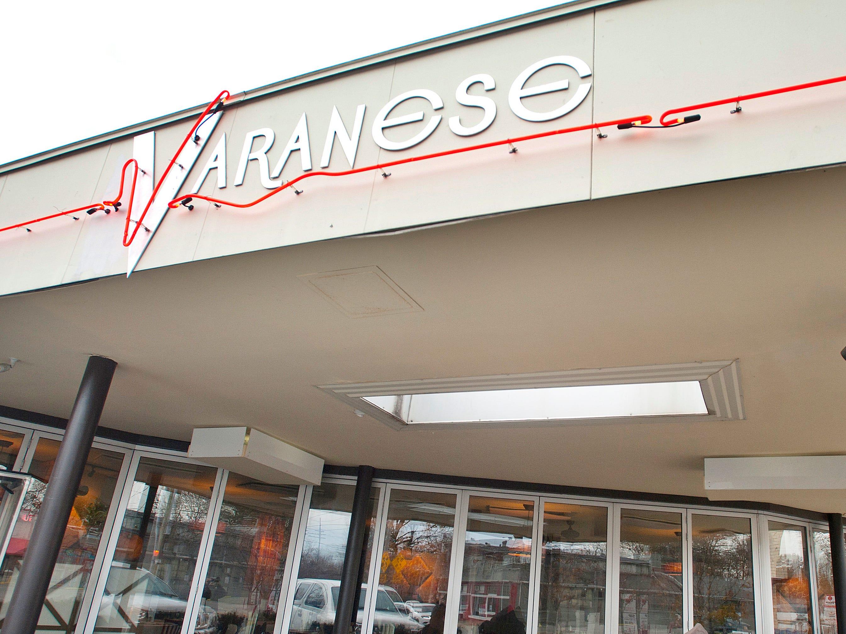 The Varanese Restaurant on Frankfort Avenue. November 14, 2018