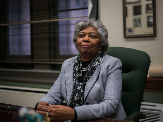Councilwoman Mary Woolridge, in her office inside City Hall.