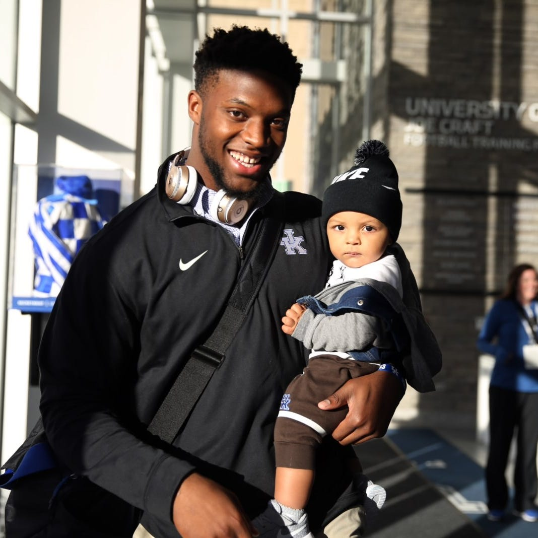 'I do it all for him': Kentucky's Josh Allen motivated by infant son
