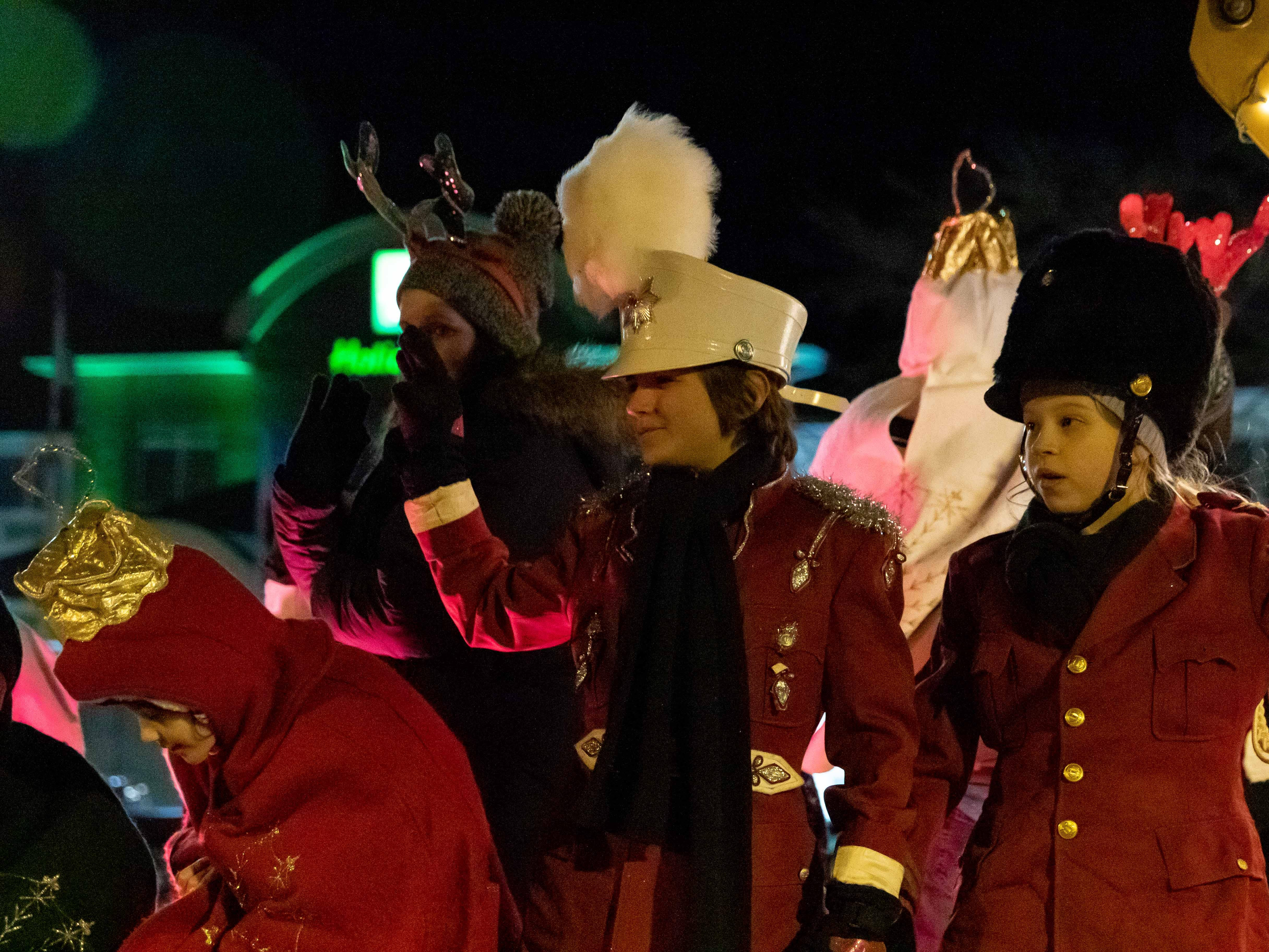 The Main Street Holiday Parade was held Thursday, Nov. 15, 2018, in downtown Marshfield.