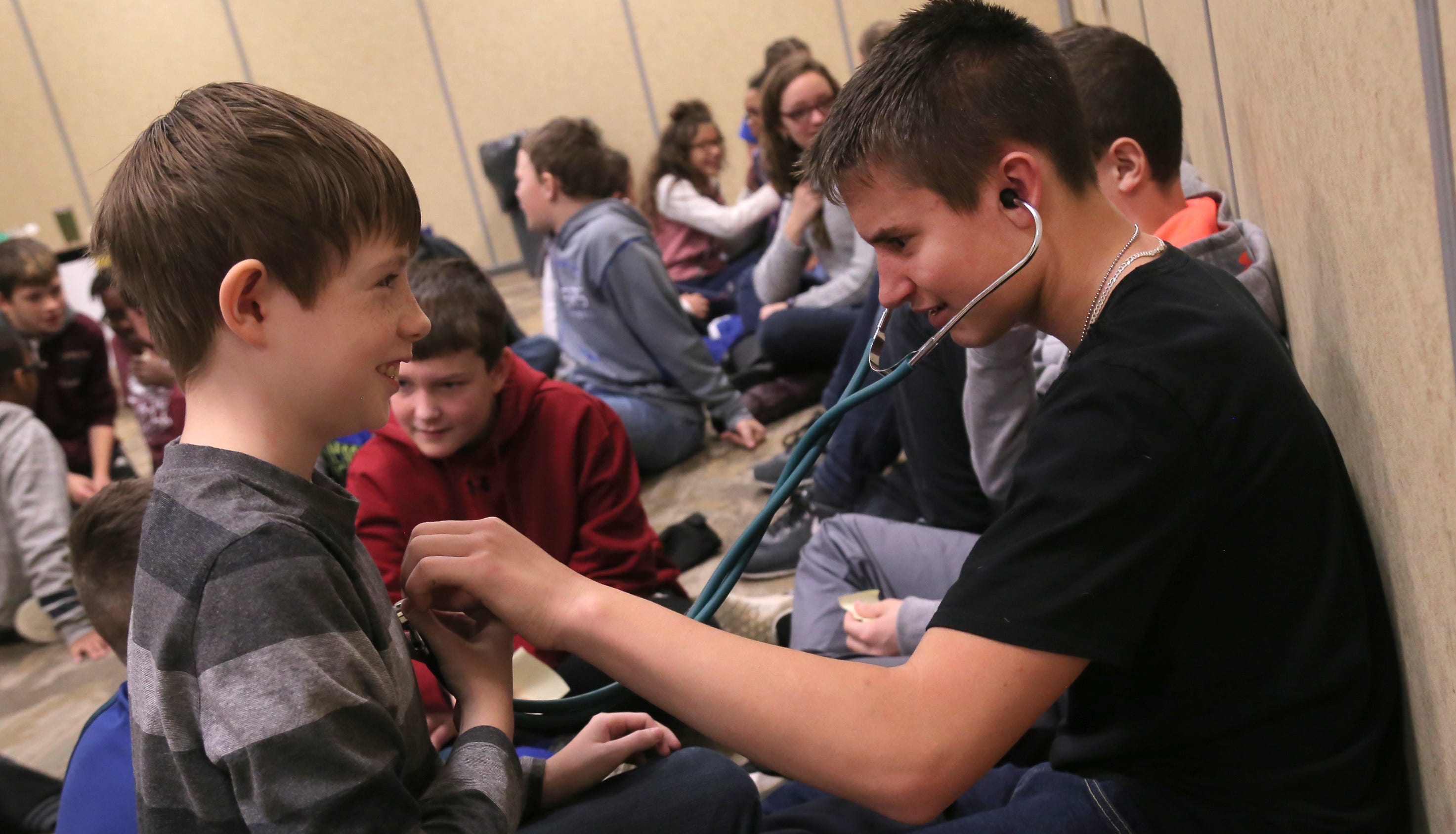 Sixth-graders from local schools get chance to explore career options