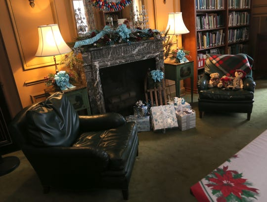 Various areas at the Kingwood Center have decorated for Christmas.