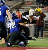 Brown scored the go-ahead touchdown and two-point conversion with 12 seconds to play in St. Catherine's 8-7 Division 4 state title win