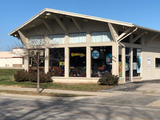 Kowabunga Comics is home to the only comic book store in the Lake Country area.