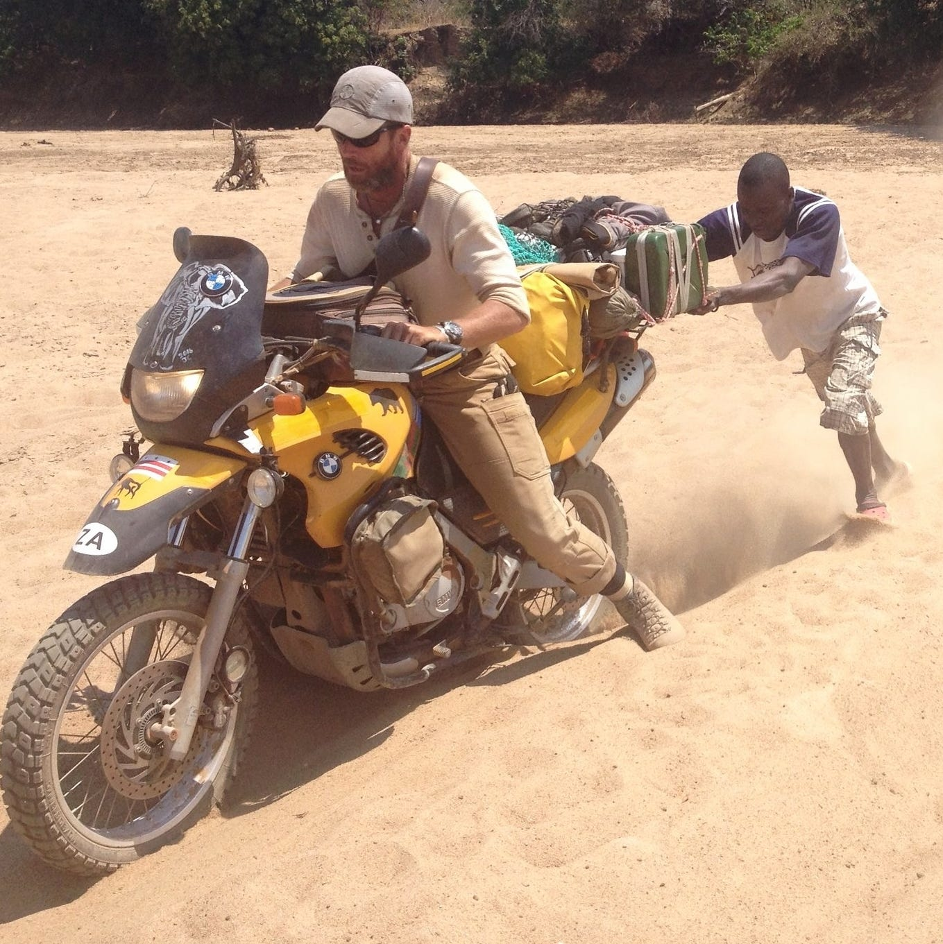 Marquette grad and husband offer motorcycle therapy trips in Africa