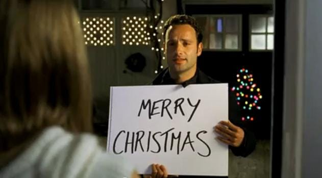 "In ""Love Actually,"" Andrew Lincoln plays a man who acquires feelings for his best friend's new bride."