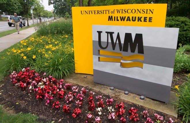 The campus of UW-Milwaukee.