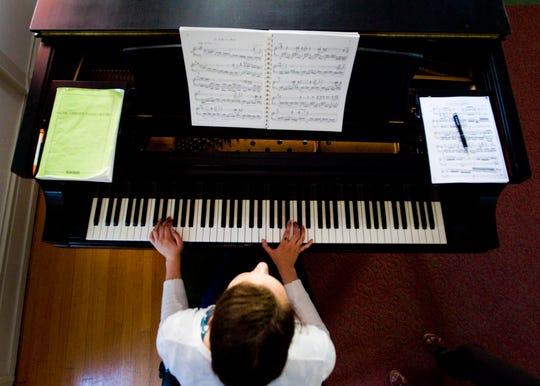 Joanna Rogowski, 16, earned a Mary Horwitt Piano Scholarship, a Wisconsin Conservatory of Music Program that benefits Milwaukee Public Schools piano students.