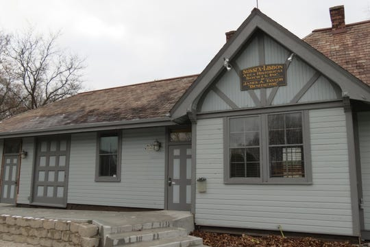The former Sussex train depot will serve as a trailhead facility for the Bugline trail.