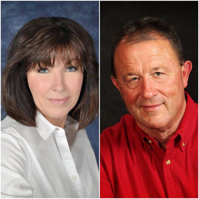 The mayoral runoff between Nancy Osmon (left) and Hillrey Adams heads to the polls today.