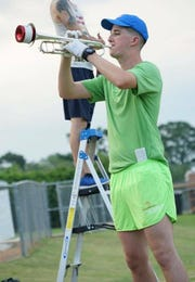 David Persky, a senior at Stanhope Elmore High School, was selected to participate in the Macy's Great American Marching Band during the 2018 Thanksgiving parade.