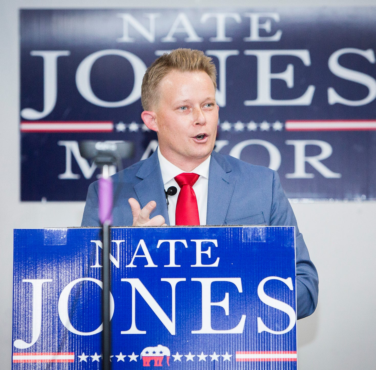 Nate Jones announces Muncie mayoral bid
