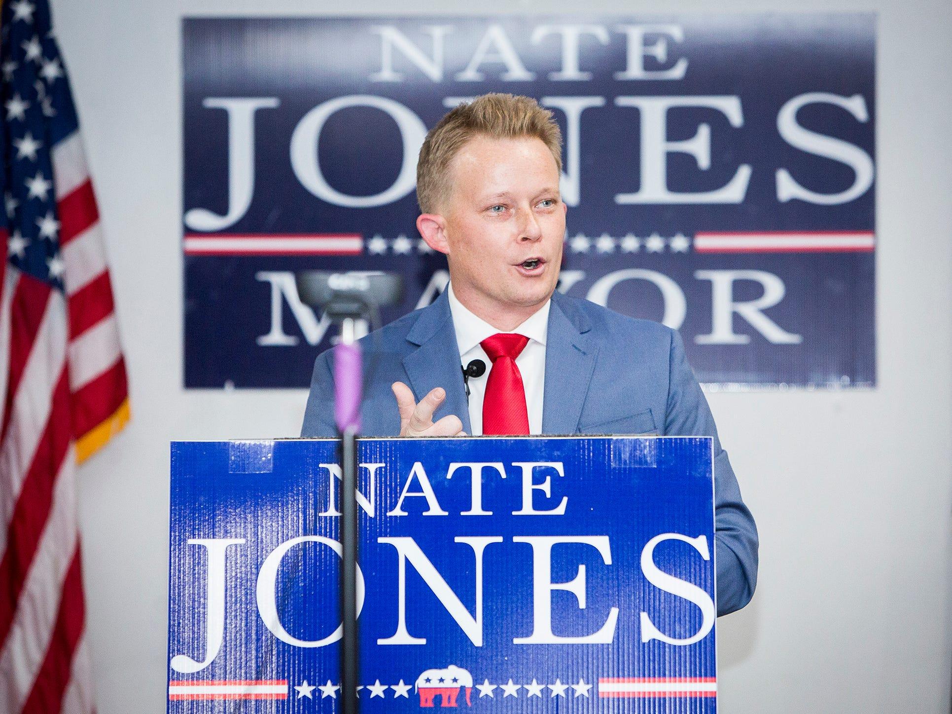 Nate Jones announces Muncie mayoral bid