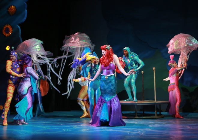 """In a """"fairy-tale opportunity,"""" Catherine Birdsong portrays Ariel in NCT's production of Disney's """"The Little Mermaid."""""""