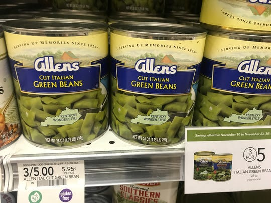 Allen's green beans, with a little doctoring, are a good choice for an affordable side dish at Thanksgiving.
