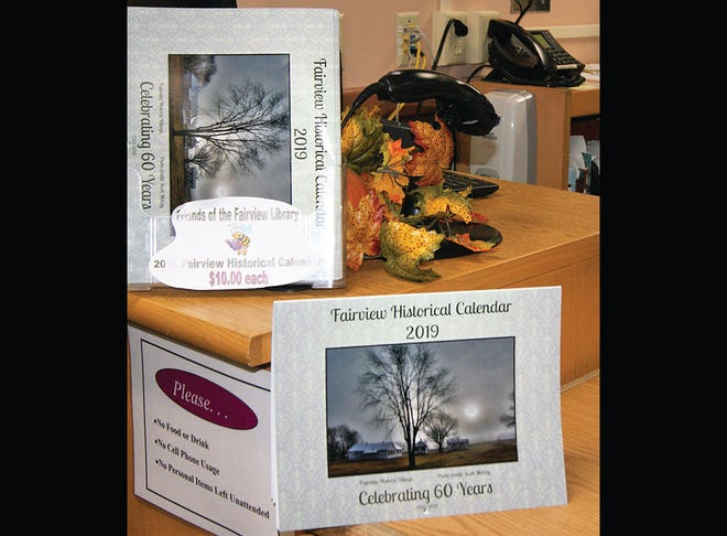Friends of the Fairview Public Library are selling calendars featuring historic photos.